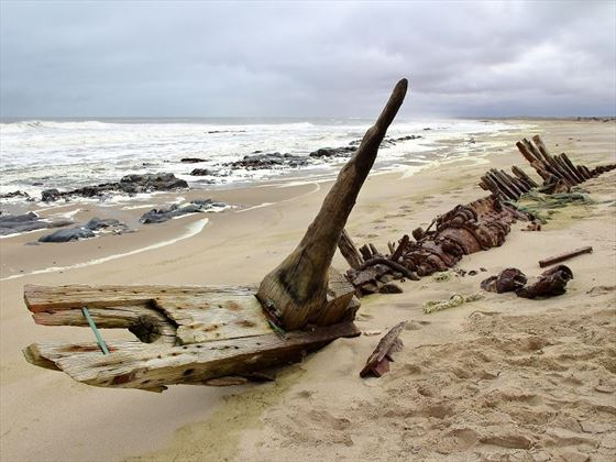 Skeleton Coast Shipwreck, Namibia