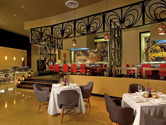 Silk City restaurant at Breathless Punta Cana