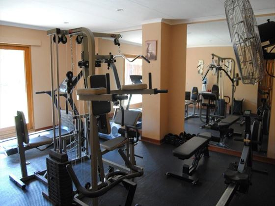 Simbambili Game Lodge gym