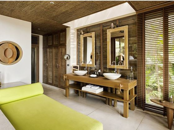 Villa Bathroom, Six Senses Samui