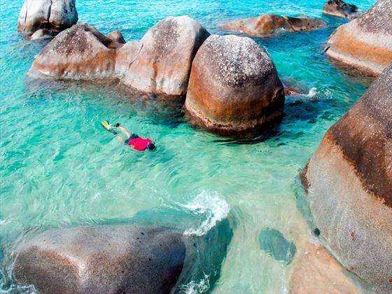 Snorkelling in the British Virgin Islands