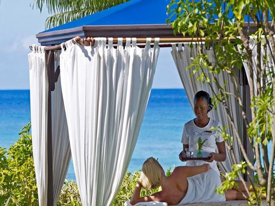 Spa cabana at The House by Elegant Hotels