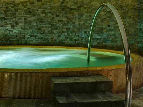 Spa Jacuzzi at Park Hyatt Abu Dhabi Hotel & Villas