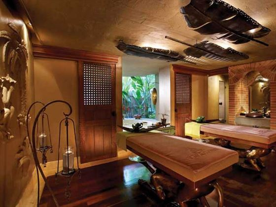 Spa room at Rayavadee Private Villas