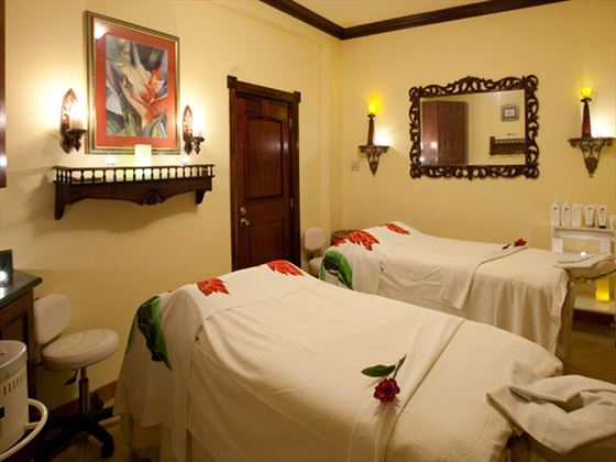 Spa room at Sandals Royal Caribbean Resort & Private Island