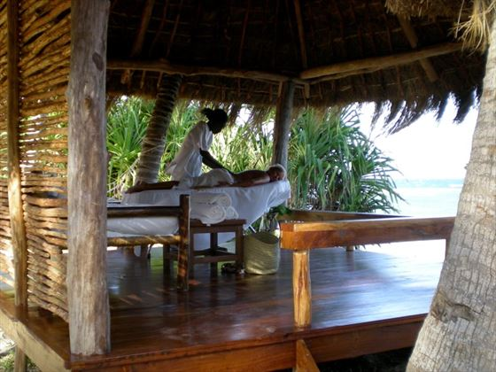 Spa at Msambweni Beach House