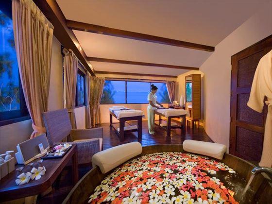 Spa treatment room at Aleenta Hua Hin Pranburi Resort and Spa