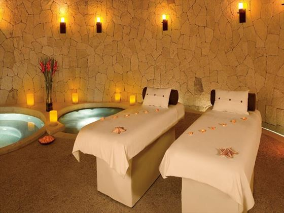 Spa treatment room at Secrets Maroma Beach Riviera Cancun