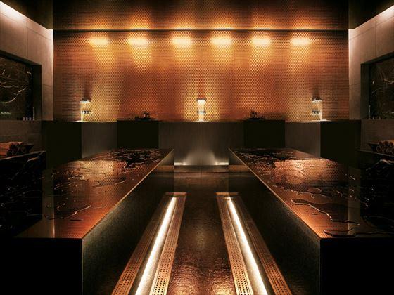 Spa treatment room at Viceroy Abu Dhabi