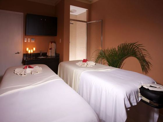 Spa treatment rooms at Jolly Beach Resort & Spa