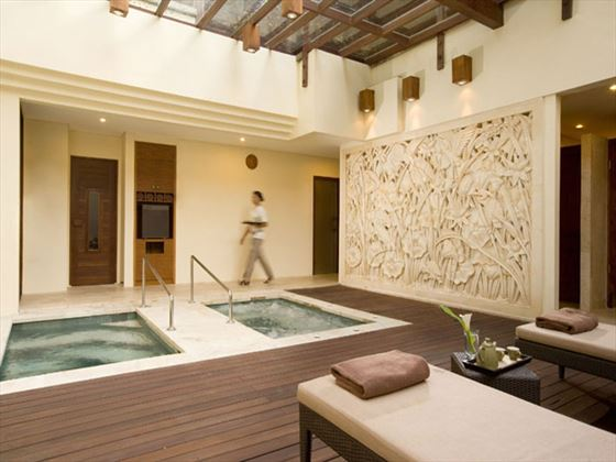 Spa whirlpool at Nusa Dua Beach Hotel