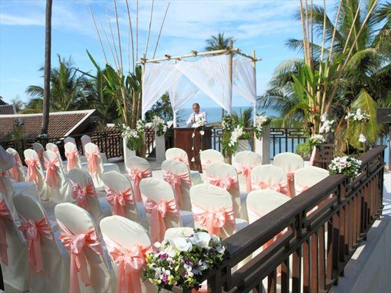 Weddings at the Anantara Lawana Resort