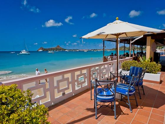 St Lucian by Rex Resorts sun deck