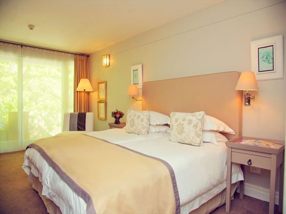 Standard room at Le Franschoek Hotel