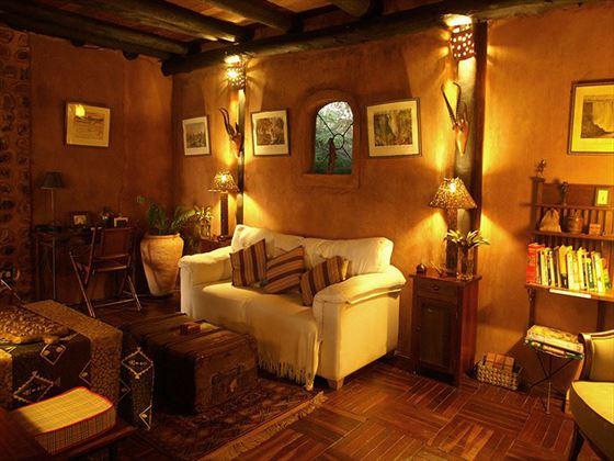 Stanley Safari Lodge lounge