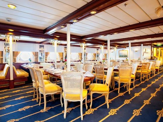 Star Clipper Dining Area