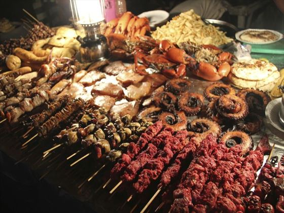 Street food in Stone Town