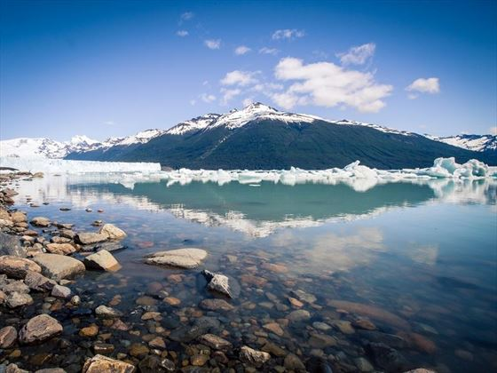 Stunning views across El Calafate Lake, Argentina