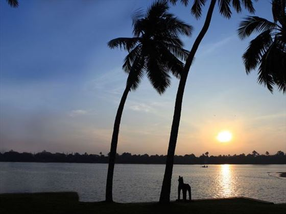 Stunning sunset at AVANI Kalutara
