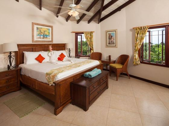 Penthouse Master Bedroom at Sugar Cane Club Resort & Spa