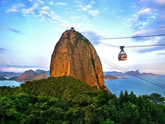 Cable Cars leading to Sugarloaf Mountain, Rio de Janeiro