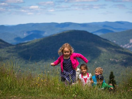 Summer fun with the kids in Tremblant