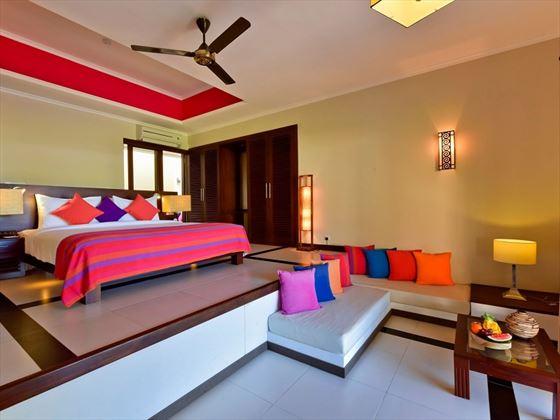 Sun Aqua Pasikudah suite interiors