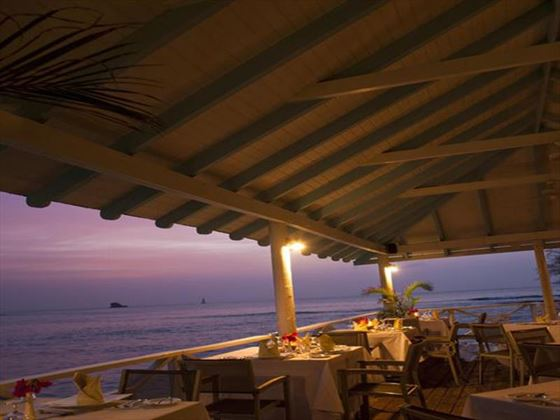 Sunset restaurant at Smugglers Cove Resort & Spa
