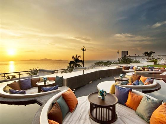 Sunset Terrace at Royal Cliff Hotels Group