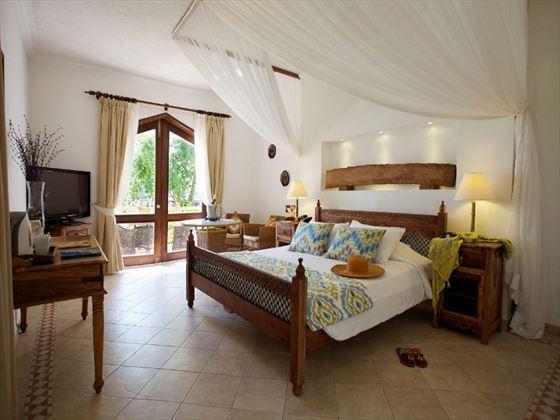Superior room at Bluebay Resort & Spa