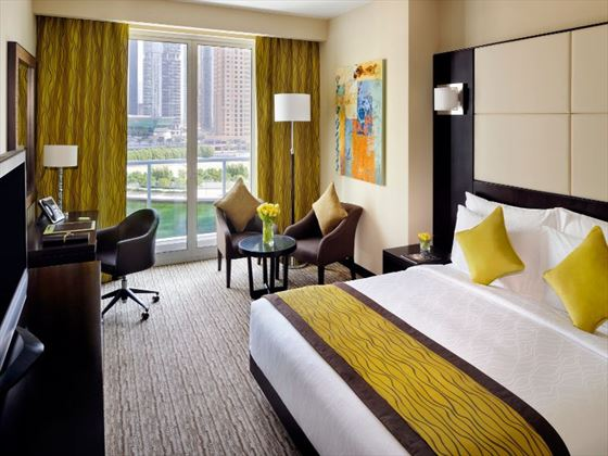 Superior room at Movenpick Jumeirah Lakes Towers