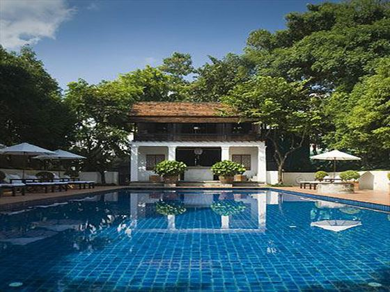 Swimming pool at Rachamankha