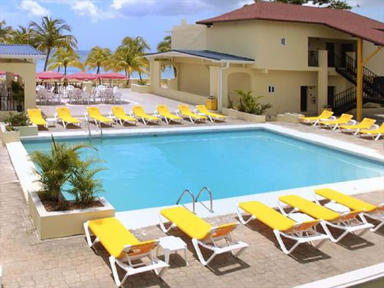 Swimming pool at Rooms on the Beach Negril