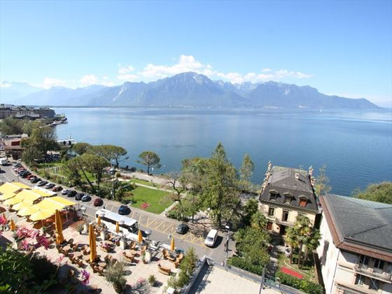 Montreux Lake Geneva Switzerland
