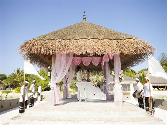 Wedding pavillion
