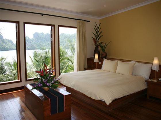 Tanjung Rhu Resort bedroom