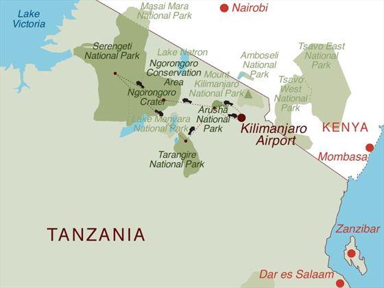 Tanzania Discovery Map