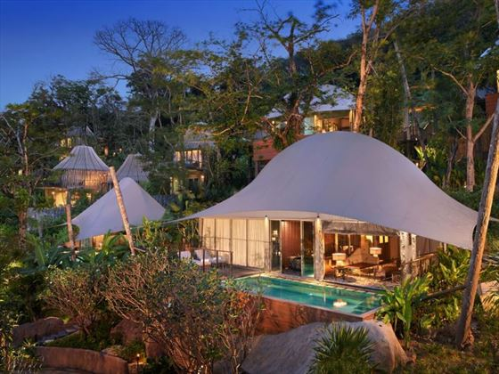 Tent Pool Villa exterior