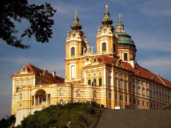 Melk Abbey on the Danube