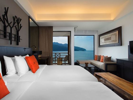 Luxury Sea View Rooms at The Andaman, Langkawi