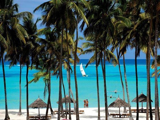 The beach at Dream of Zanzibar
