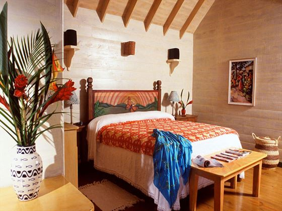 The Caves Deluxe Villa bedroom
