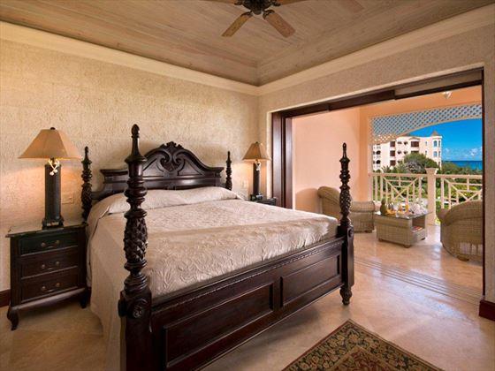 The Crane double bedroom and balcony