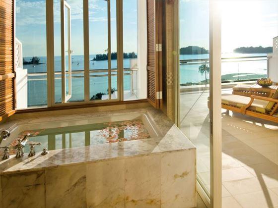The Danna Langkawi Merchant Suite bathroom