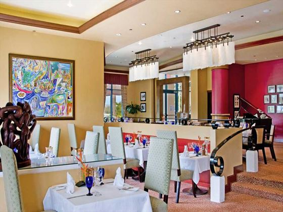 The Grille restaurant at Hilton Barbados Resort