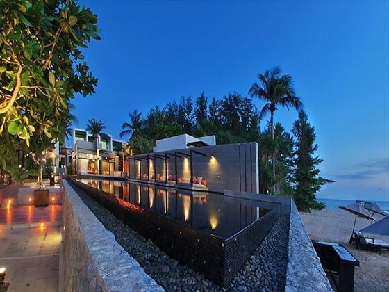 Infinity pool at Aleenta Phuket - Phang Nga