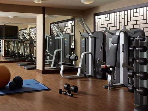 The Langham Hotel Auckland gym