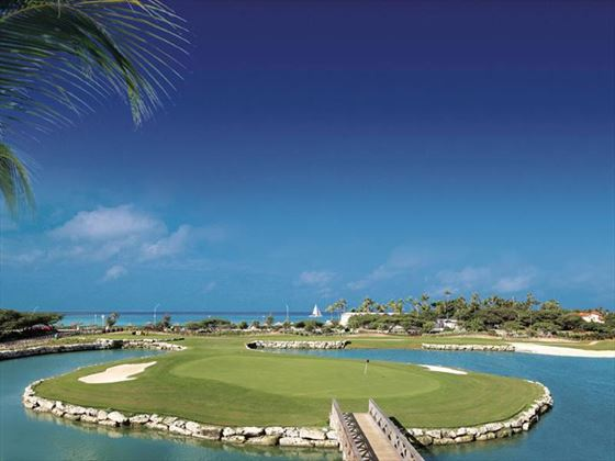 The Links golf course at Divi Village All Inclusive Villas