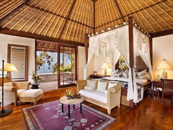 Ocean View Villa at The Oberoi Beach Resort Lombok