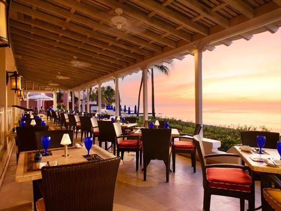 The Palm Terrace at The Fairmont Royal Pavilion